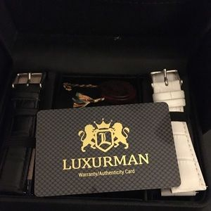 Luxurman leather watch bands